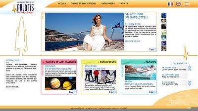 Interface d'une borne interactive dans un musée - Polaris - Cité de l'Espace - Axel-Client.com - Laurent Marcoux
